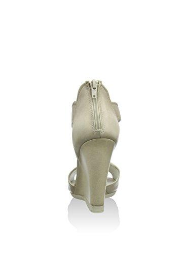 CAFèNOIR Sandal - Sandalias de vestir de piel para mujer marfil - Elfenbein (271 OFF WHITE)