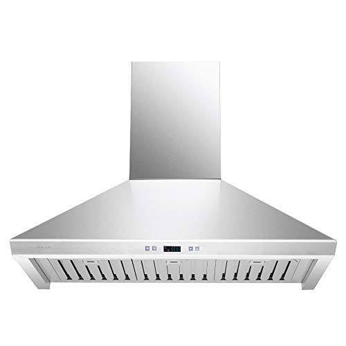 CAVALIERE 36″ Inch Range Hood Wall Mounted Stainless Steel Kitchen Vent