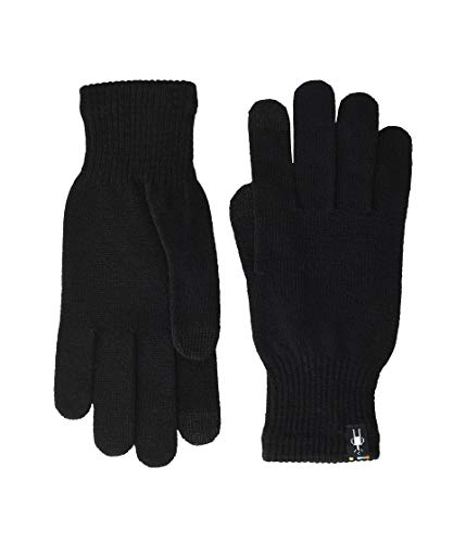 (Smartwool Unisex Liner Glove Black XS)