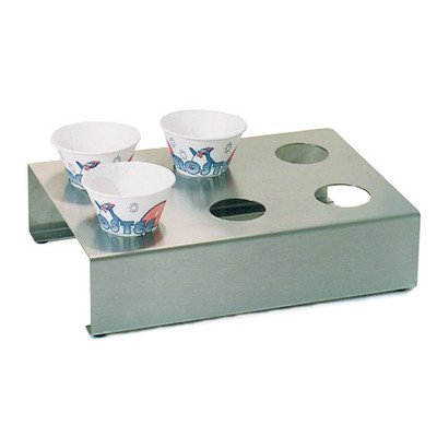 Paragon Stainless Steel 6-Cup Sno-Cone Holder