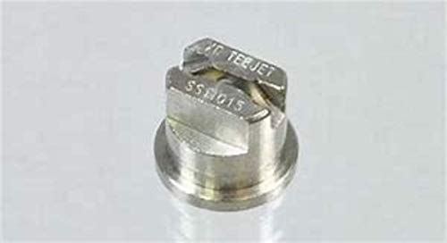 TeeJet XR11015 Extended Range Spray Tip, 0.92-1.84 GPM, 15-60 psi, Stainless Steel - Silver