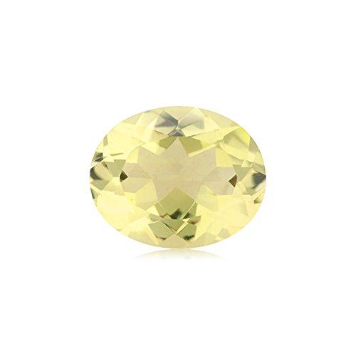Lemon Citrine Gemstone - 2.25-2.75 Cts of 10x8 mm AAA Oval Cut Lemon Citrine ( 1 pc ) Loose Gemstone