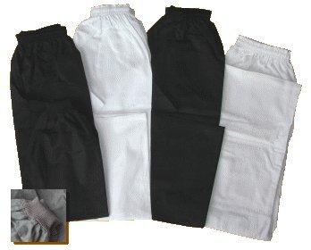 S.B.J - Sportland pantalon coton/pantalon de sport de combat/pantalon Judo/pantalon Karate noir