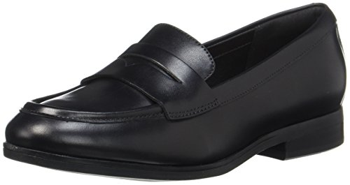 Mocassins Purple Noir Eu Leather Femme Tilmont loafers Clarks black Zoe 41 1qwHPxa