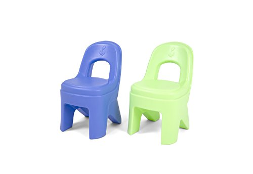 Simplay3 Play Around Chairs (2 Pack) – Periwinkle Blue and Lime For Sale
