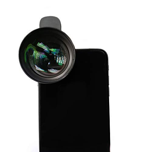 Morjava LT-085 Cell Phone Camera Lens telephoto HD 3X Optical 85mm Portrait Phone Lens Compatible with iPhone X XS Max 8 X 8plus and Most Android - Macro Mobile Phone Lens