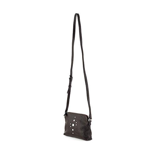 Ellington Handbags Alex Crossbody Pouch Chocolate