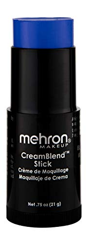 Mehron Makeup CreamBlend Stick (.75 oz) (Blue)