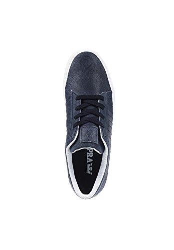 Supra Hombres Belmont Black / Bone Sneaker Hombres 10, Mujeres 11.5 D (m)