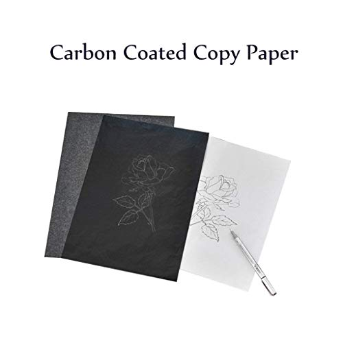 AIUSD Clearance  ,50PCS Black Carbon Copy Paper for for sale  Delivered anywhere in USA