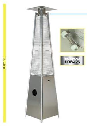 Johnson & Johnson Estufa de Gas Modelo pirámide Inoxidable Potencia 5000 ...