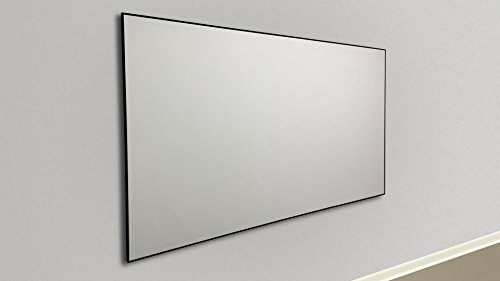 Silver Ticket Thin Bezel 16:9 Aspect Ratio 4K Ultra HD Ready HDTV (6 Piece  Fixed Frame) Projector Screen (16:9, 92