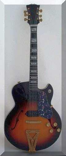 Scotty Moore miniatura mini Guitar super 400