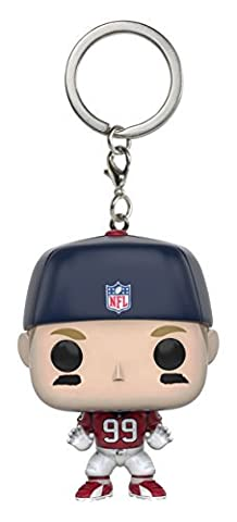 Funko POP Keychain: NFL - JJ Watt Action Figure - Nfl Key Ring
