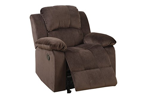 Poundex PDEX-F6713 Recliners Chocolate