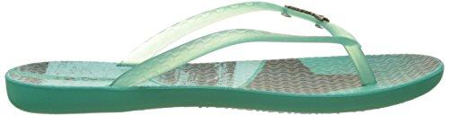 Ipanema Wave Tropical Fem - Sandalias de dedo Mujer Vert (Green/Green)