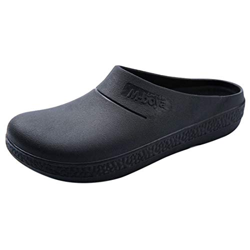 top YUENA CARE Chef Shoes Kitchen Work Shoes Male Work Slip-On for cheap