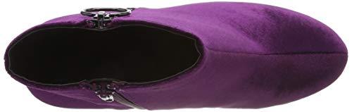 Heel Boot purple Bottines 524 Round Ankle Bianco Femme Violet BzF5WRwzqZ