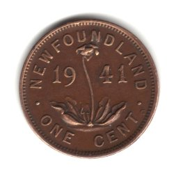 1941-C Canada Newfoundland Small Cent Penny Coin KM#18 (Newfoundland Coin)