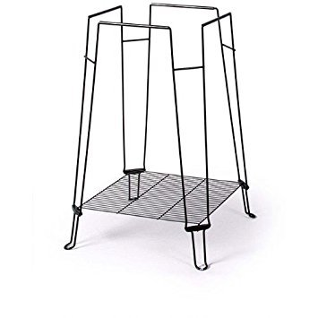 Prevue Pet Products BPV871 Clean Life Metal/Plastic Bird Cage Stand, 28-Inch, Black by Prevue Pet Products