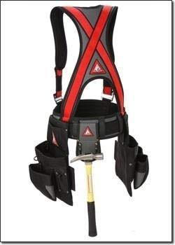 Jigsaw Adjustable Frame (Super Anchor All-Pakka Harness Tool Bag Combo 6351 - X-Large/Jig Saw Camo Olive)