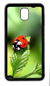 Fun Day Ladybug Customized Hard Samsung Galaxy Note 3 N9000 Tpu Black Case
