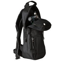 gs, Black, Backpack Style with High-quality Padded Nylon Fabric (M6 Style Cylinder)