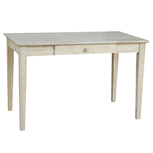 (International Concepts OF-41 Writing Desk, Unfinished)