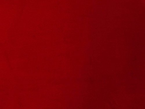 Quality Red 100% Cotton Velvet Velour Fabric for Upholstery/Drapery/Crafts/Costumes Heavy 16oz Weight Thick Curtain Material Sold by The Yard at 54 inch Wide Cotton Velvet Upholstery