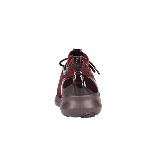 X Dk Femme D Burgundy Baskets Geox C7357 Enfiler B Rouge Nebula wTPE8