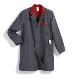BP Manteau de travail 148470053Gris foncé/rouge Taille: 60/62
