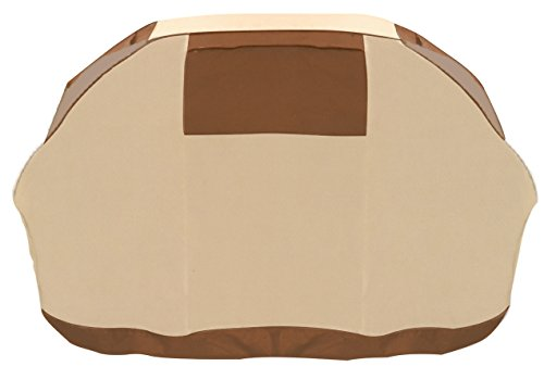 DOT Grill Cover - Durable BBQ Cover with Heavy Duty Weather Resistant Fabric, Medium, 58-Inch