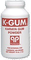 Powder Gum Karaya (K-Gum Karaya Gum Powder, 3.0 Oz Bottle)