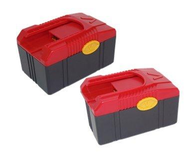 2PCS 18V 4.0Ah/4000mAh battery pack for Snap on CTB6187 CTB6185 CTB4187 CTB4185 Lithium-Ion by PowerWings