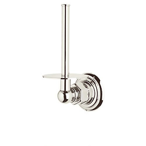 Rohl ROT19PN Country Bath Spare Toilet Paper Holder in Polished Nickel by Rohl