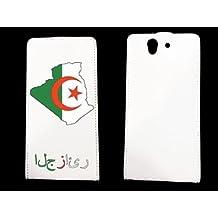 leather Sony Xperia Z Algerie - - ? case blanche - AlgÚrie1 -