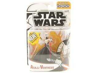 Star Wars Animated Clone Wars Figures Asajj Ventress 1002999
