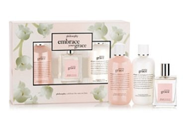 - Philosophy Embrace Your Grace, Amazing Grace gift set, 3 pieces