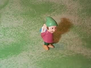 Hallmark Merry Miniature Elf with Package 1989