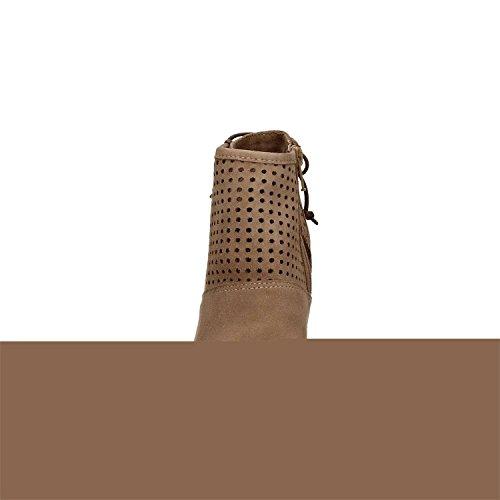 E Piccole Con Grandi E17 Mfb501 Taupe Tronchetto 273 Cafènoir Forature 4nYHXZWq