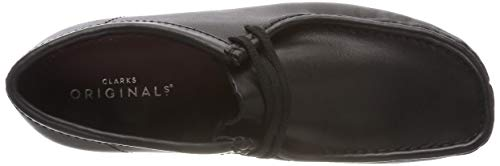 Clarks Originals Leather Derbys Noir Wallabee black Homme qUaqTw