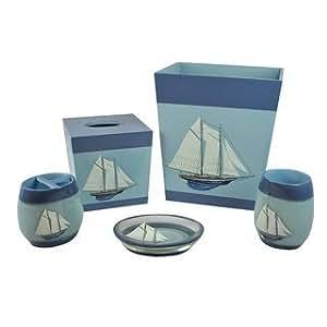 Sherry kline fair harbor nautical bath for Naaptol kitchen set 70 pieces