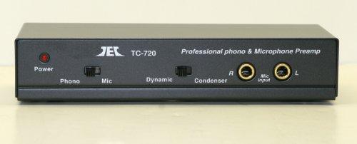 Tcc Tc 720 Stereo Microphone Riaa Phono Pre Amp  Preamp  Preamplifier