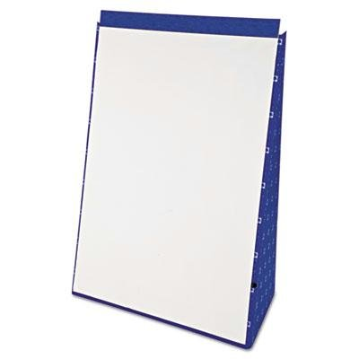Ampad - Tabletop Flip Chart Easel Unruled 20 X 28 White 20 Sheets/Pad