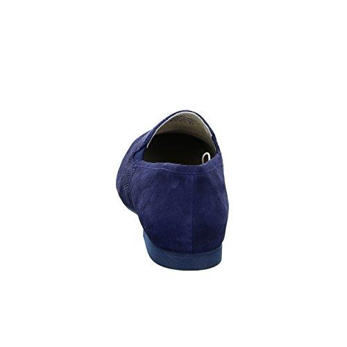 BOXX 81.242 Damen Slipper Leder Blau (Navy)