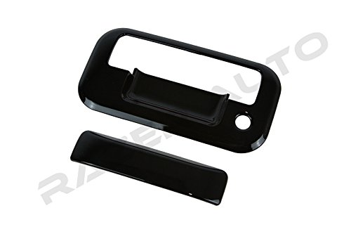 Razer Auto Glossy Black Tailgate Handle Cover for 04-14 Ford F150/08-14 Ford F250 Superduty/04/08 Ford Mark Lt/07-10 Ford Explorer Sport Trac