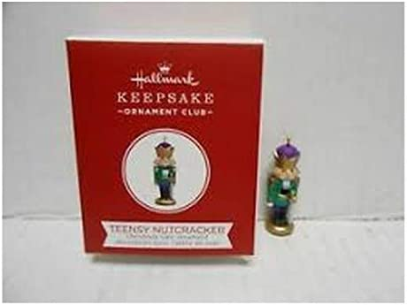 Hallmark Teensy Nutcracker 2018 Miniature Club Exclusive Repaint QXC5318