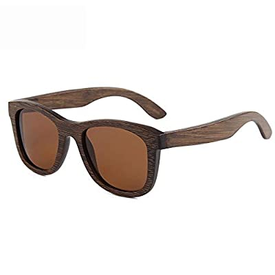 FeliciaJuan Real Wood Sunglasses UV-400 Polarized Lenses for Men and Women Blocking 100% UV