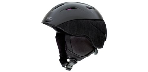 Smith Optics Women's Intrigue Snow Sports Helmet (Gunmetal Charmed, Small), Outdoor Stuffs