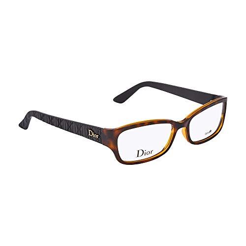 DIOR Eyeglasses 3235 0DJS Havana 53MM
